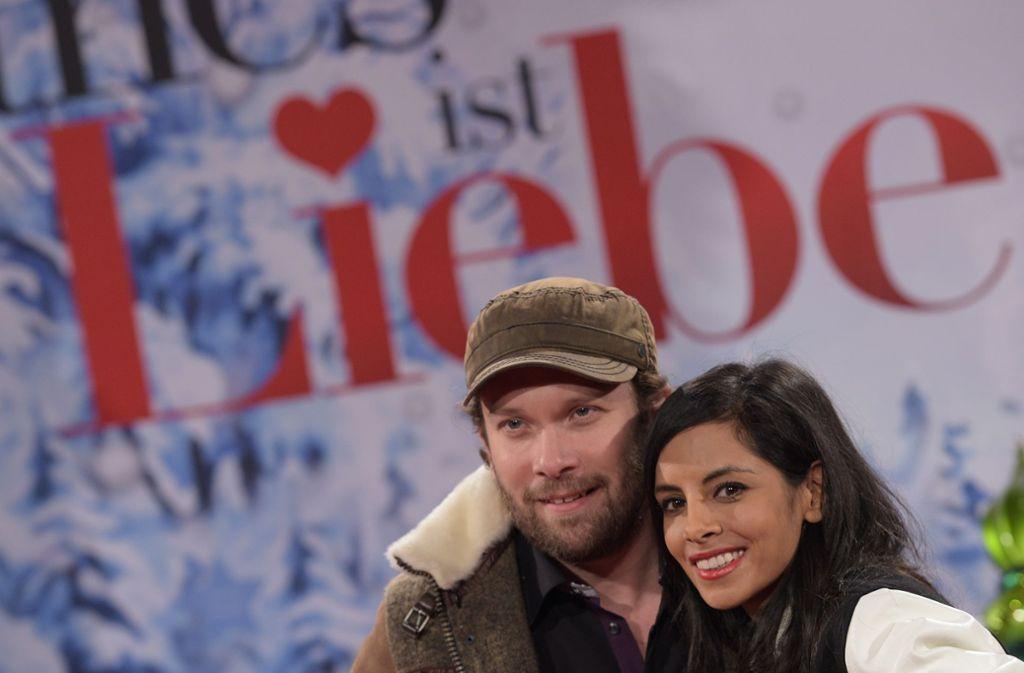 Die Moderatorin und der Schauspieler sind seit 2011 verheiratet. Foto: dpa