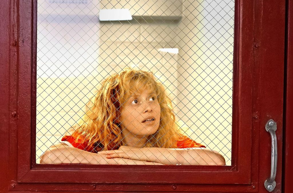 """Ihre Figur Nicky sitzt in """"Orange is the new Black"""" im Knast: Die Schauspielerin Natasha Lyonne aber erlebt diese Rolle seit Jahren als Befreiung. Foto: Netflix"""
