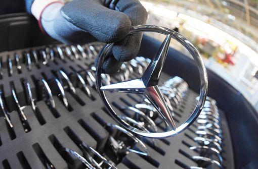 Daimler startet mit schwächeren Verkäufen
