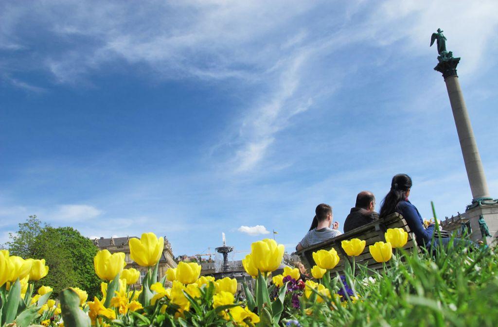 Auch in Stuttgart genießen Arbeitnehmer ihre Freizeit. Foto: dpa