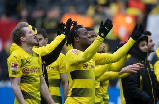 Borussia Dortmund gewinnt gegen Hannover 96