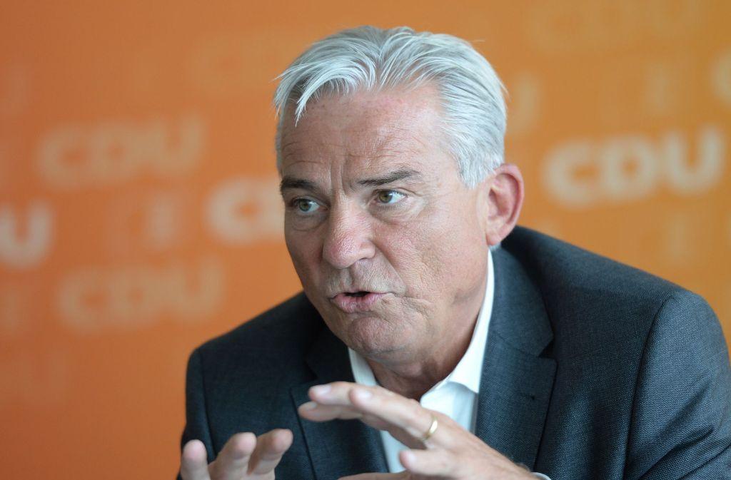 Innenminister Thomas Strobl will Baden-Württemberg im Kampf gegen den Terrorismus stärken. Foto: dpa
