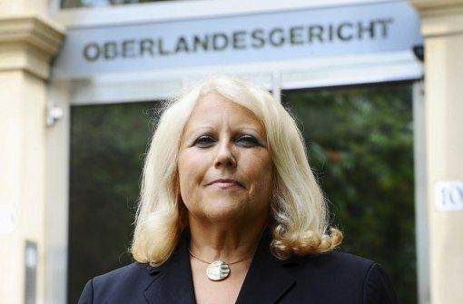 Vorgeprescht: Christine Hügel, die Präsidentin des Oberlandesgerichts Karlsruhe Foto: dpa