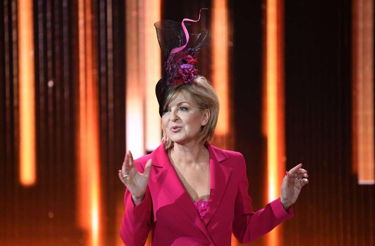 Carmen Nebel ist seit Jahren eine Institution im ZDF. Foto: dpa/Britta Pedersen