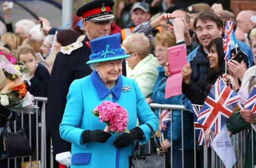 Die Queen lässt sich feiern