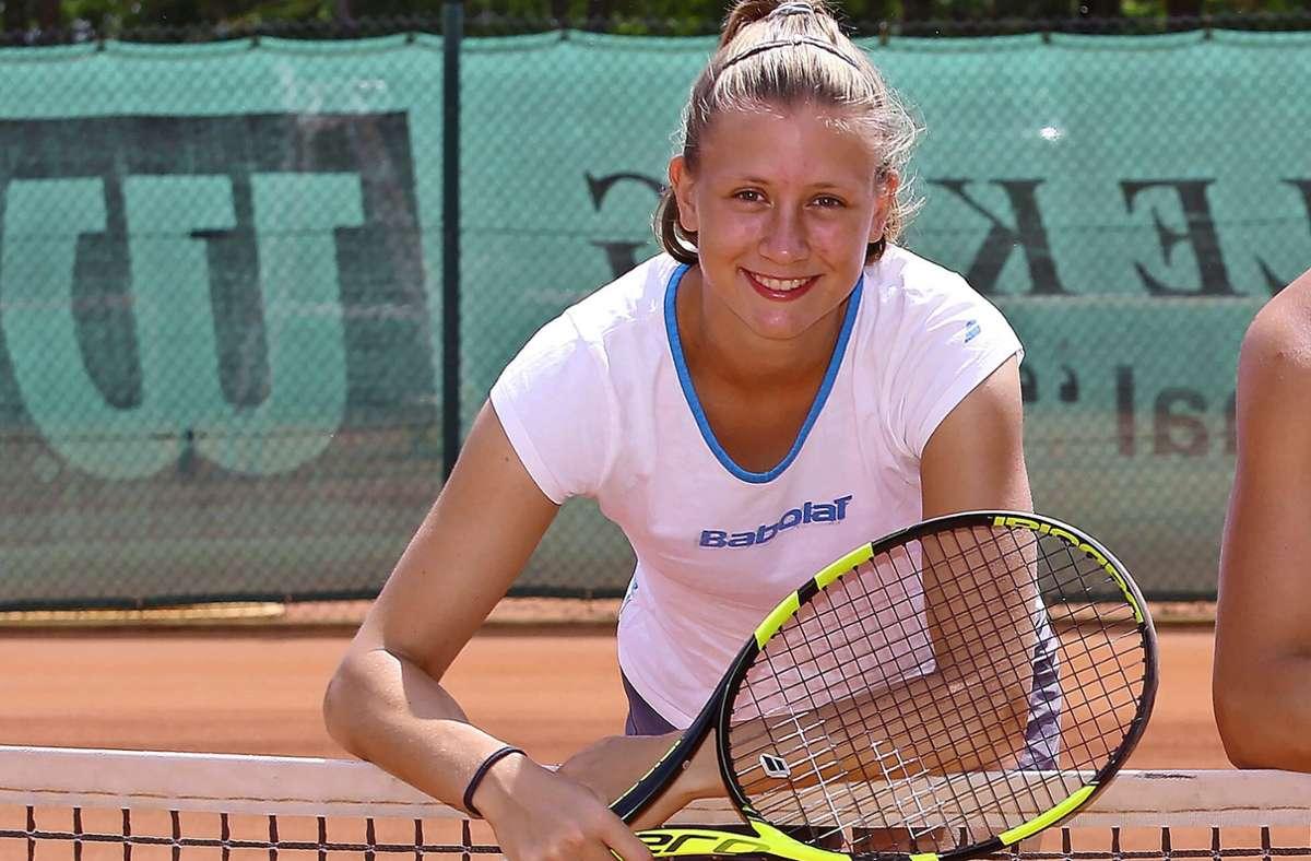 Anna Gabric ist nach einer schwierigen Phase wieder im Aufschwung. Foto: Archiv Baumann