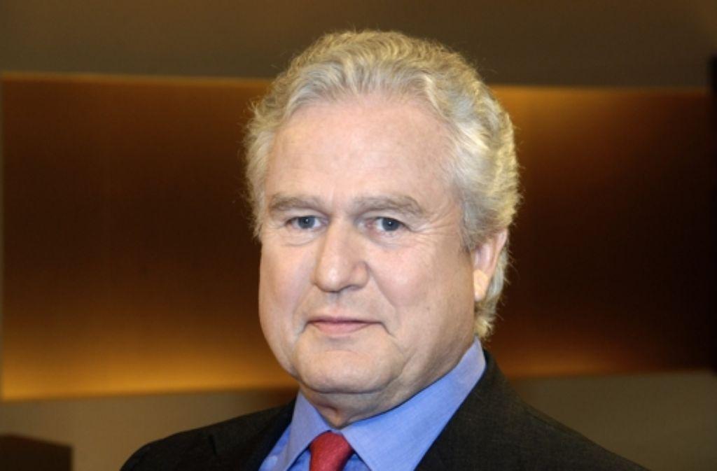 Kurt Lauk, der Präsident des CDU-Wirtschaftsrats, übt starke Kritik am Koalitionsvertrag zwischen Union und SPD. Foto: dpa