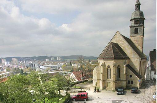Alte Pläne für einen Neubau am  Schlossberg