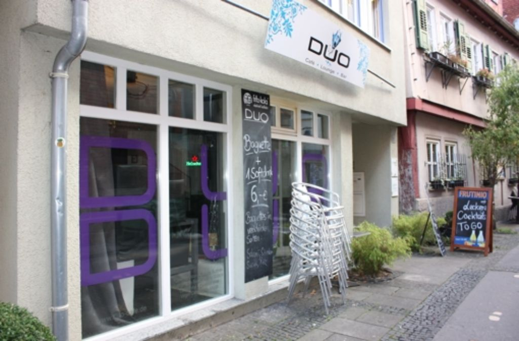 Das Café Duo liegt in der schönen Küblergasse. Foto: