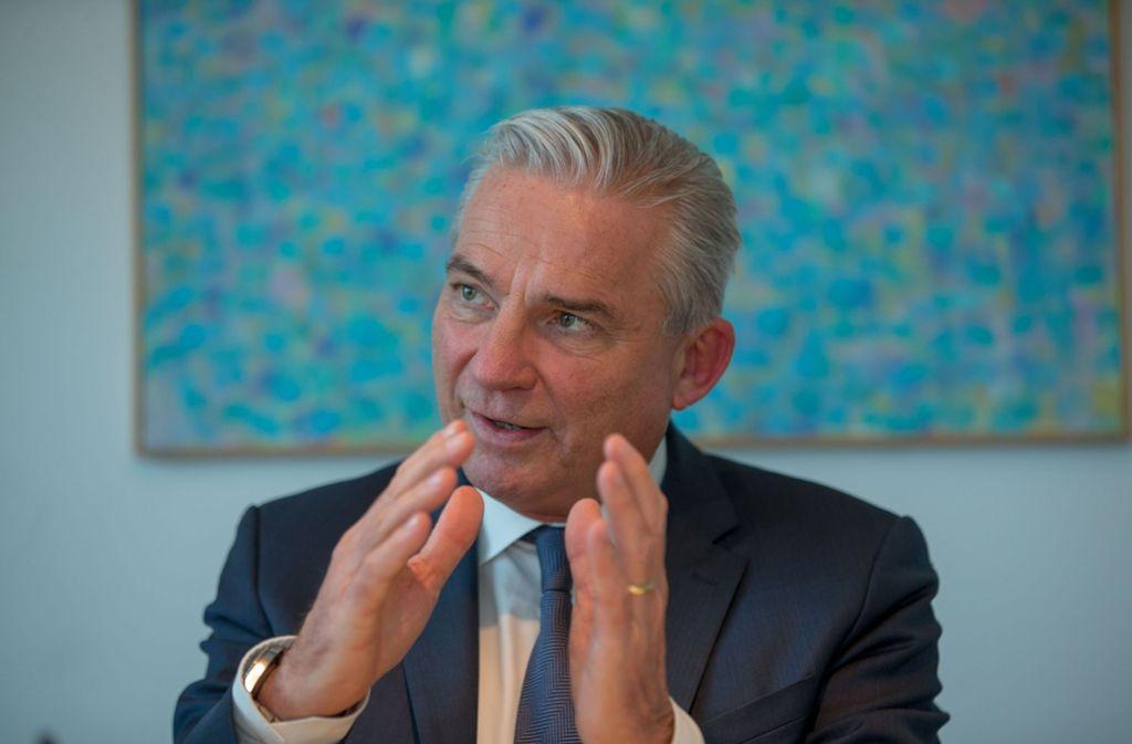 Innenminister Strobl fordert eine konsequentere Cyber-Abwehr. Foto: Lichtgut/Leif Piechowski