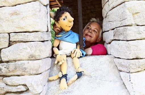 Die Puppen verstecken sich im Killesberg-Park