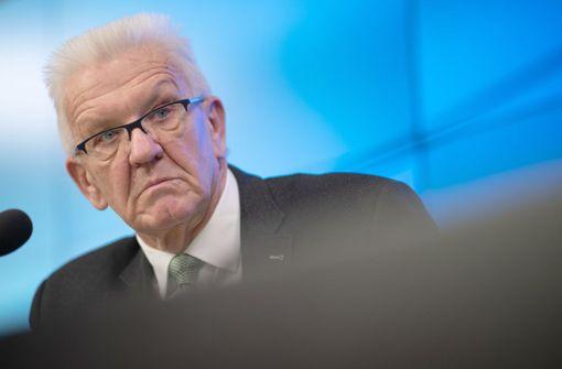 Winfried Kretschmann: Stehen erst am Anfang der Ausbreitung
