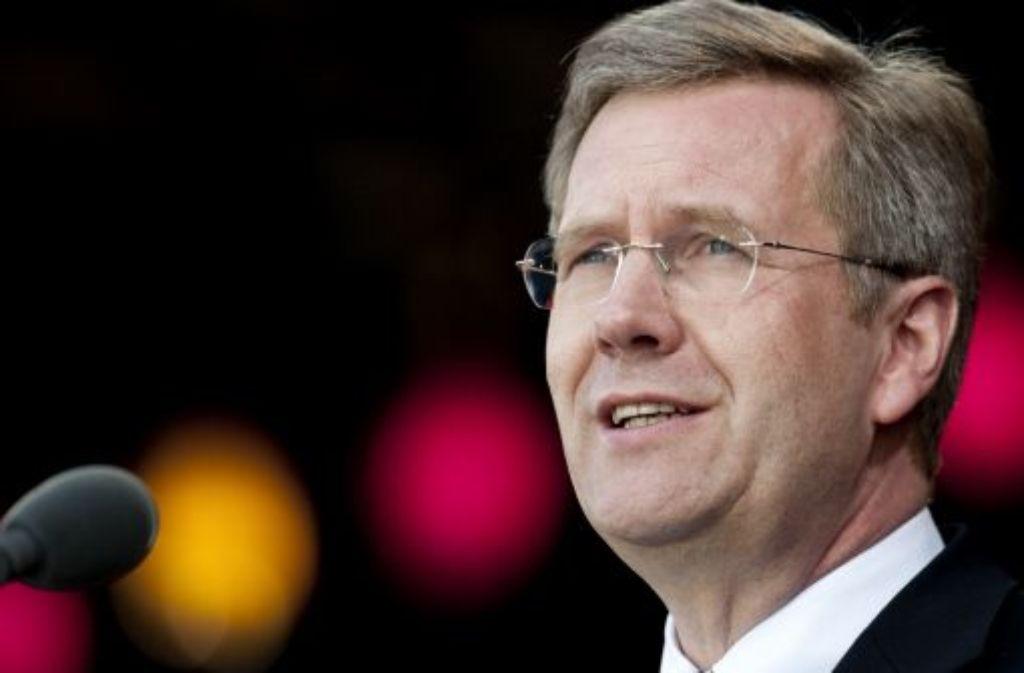 Bundespräsident Christian Wulff hat das Vorgehen europäischer Spitzenpolitiker und Währungshüter in der Euro-Krise in ungewöhnlich scharfer Form kritisiert. Foto: dapd