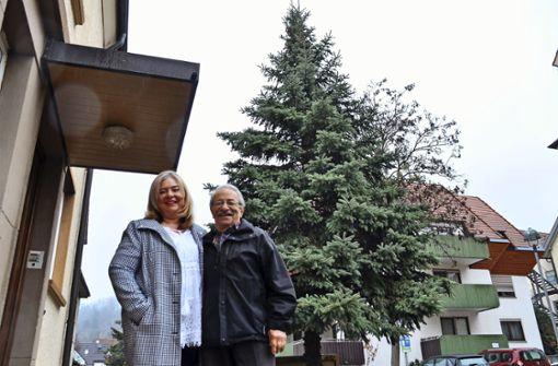 Die Geschichte des Plochinger Weihnachtsbaumes