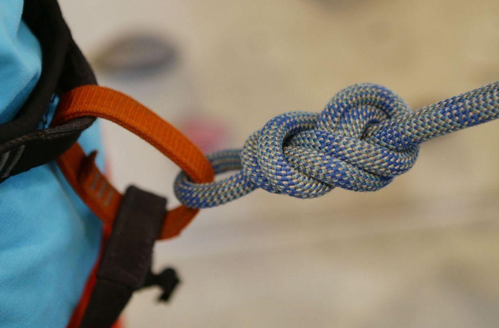 In den Alpen ist ein Kletterer ums Leben gekommen (Symbolbild). Foto: Pressefoto Baumann