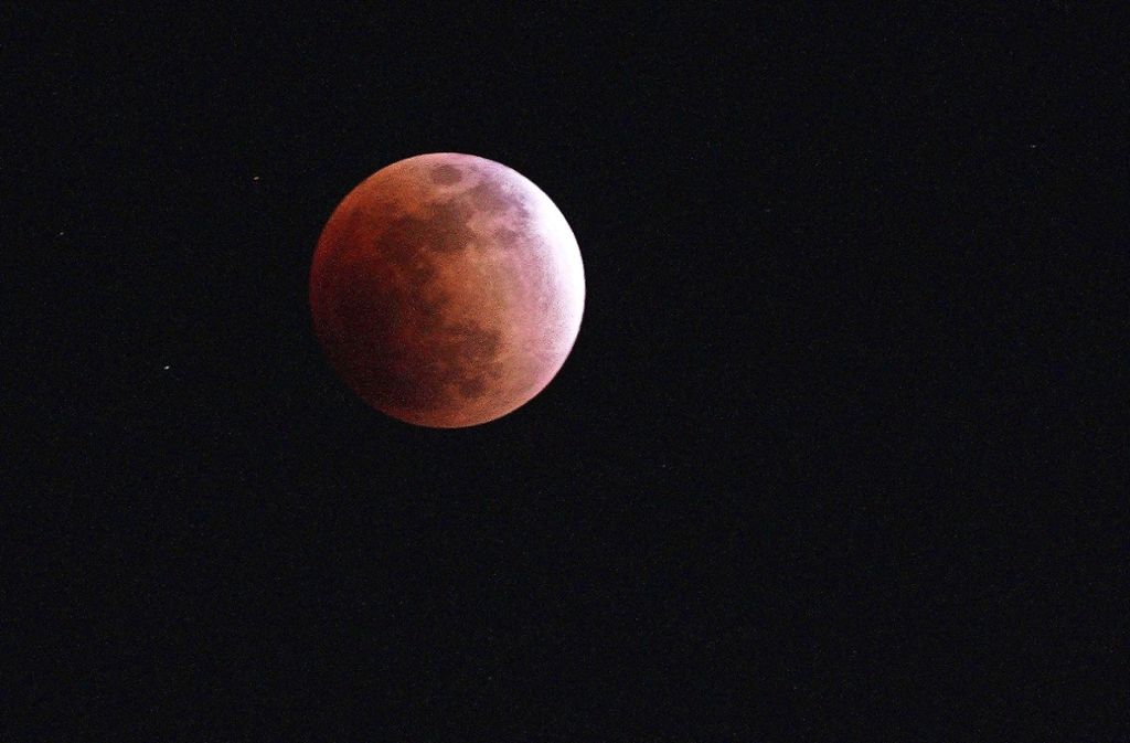 Im Januar war in Japan eine Mondfinsternis zu sehen. Foto: AP