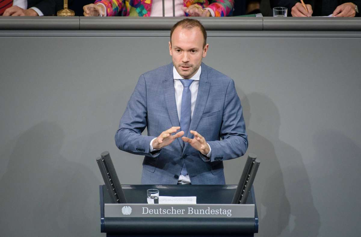 Nikolas Löbel ist kein Mitglied der CDU mehr. Foto: imago images/Christian Spicker