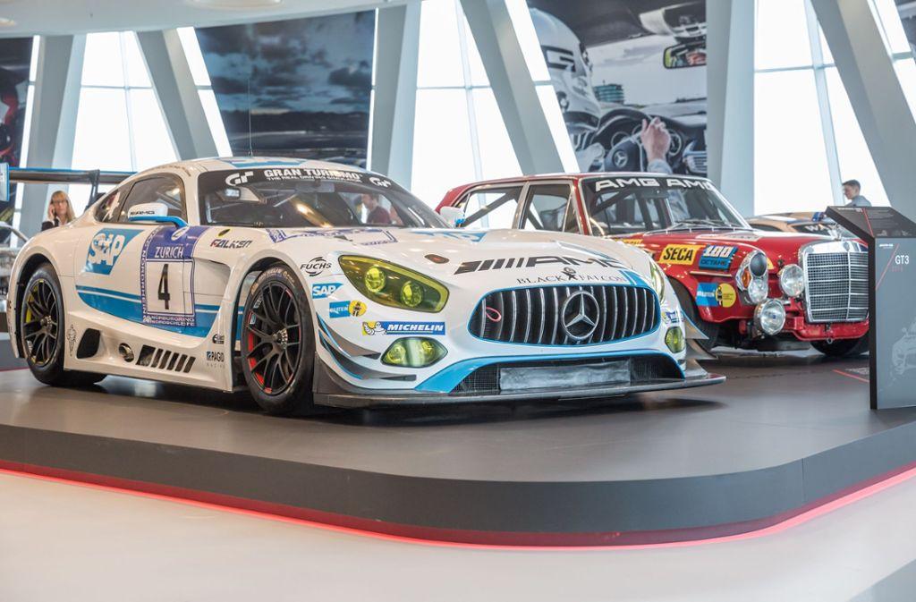 876109 strömten im vergangenen Jahr ins Mercedes Museum, das . . .  Foto: Lichtgut/Julian Rettig