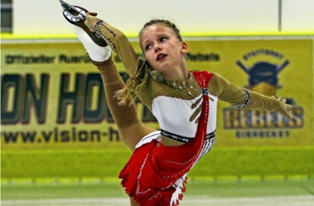 Auch Anastasia Brotsmann vom TEC Waldau hat sich mit ihrer Leistung für die nationalen Nachwuchs-Titelkämpfe in Oberstdorf  qualifiziert. Foto: Yavuz Dural