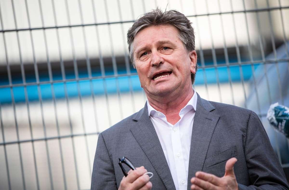 Sozialminister Manne Lucha (Grüne). Foto: Lichtgut/Christoph Schmidt