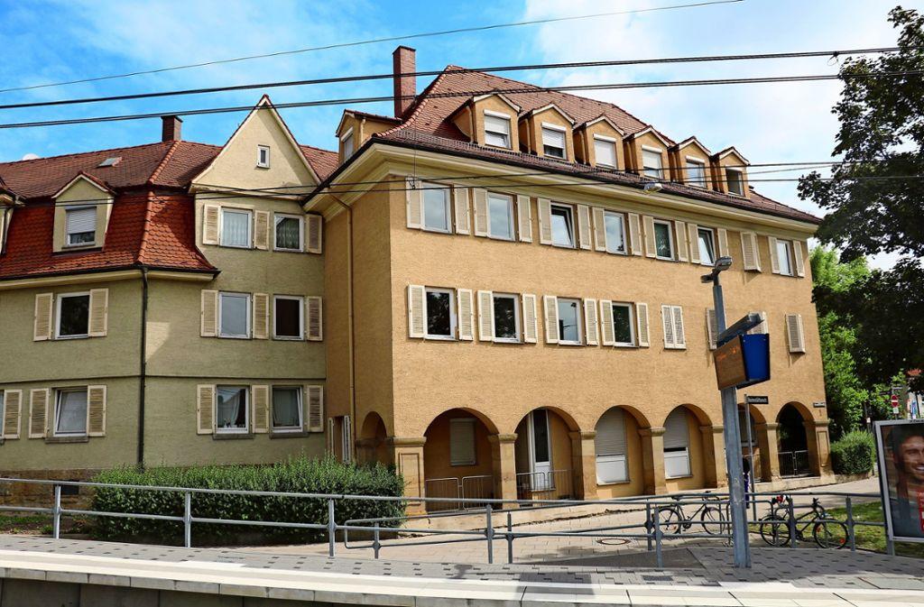 Der sogenannte Kommunisten-Block  aus den 1920er Jahren gehört der Baugenossenschaft   Zuffenhausen. Foto: Archiv Bernd Zeyer