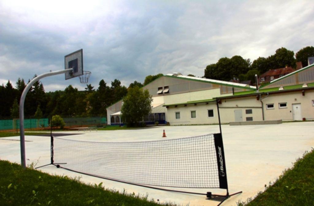 Ziemlich leere Fläche: An der Skateranlage wird sich bis zur Einweihung am 19. September nichts mehr verändern. Foto: Torsten Ströbele