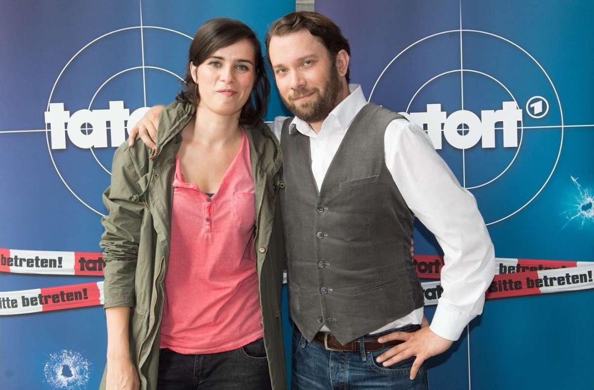 Nora Tschirner und Christian Ulmen bildeten zuletzt das Team Weimar. Foto: dpa/Sebastian Kahnert