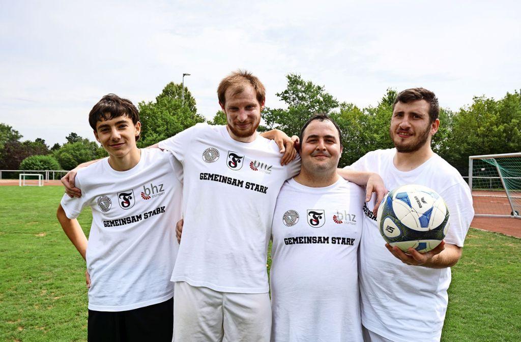 Gemeinsam stark: Menschen mit und ohne Behinderung werden zusammen Fußball spielen, laufen oder Zumba- und Yoga-Angebote nutzen. Ein T-Shirt gibt es gratis. Foto: privat