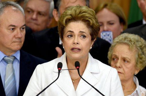 Entmachtete Rousseff spricht von Putsch