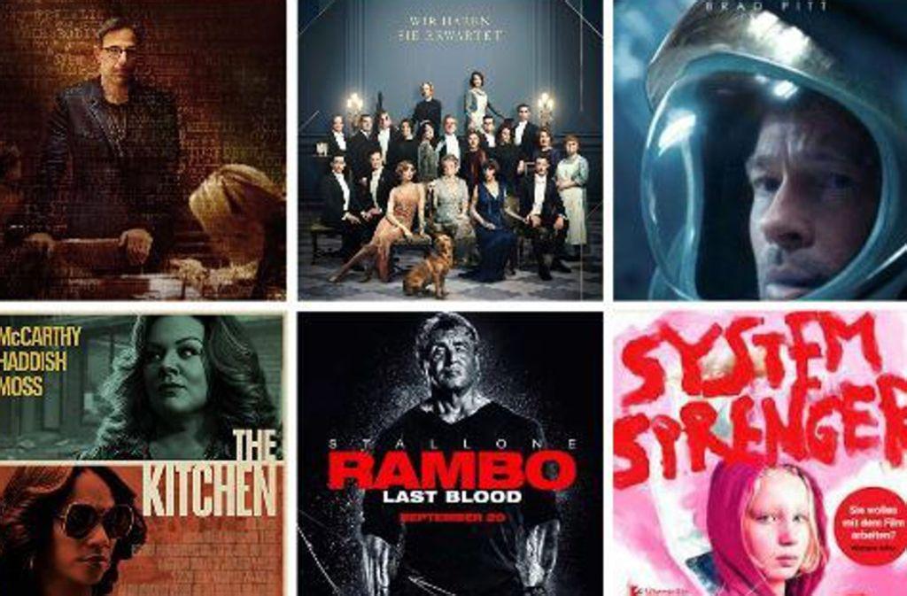 Einige der Filmplakate dieser Woche Foto: Verleiher