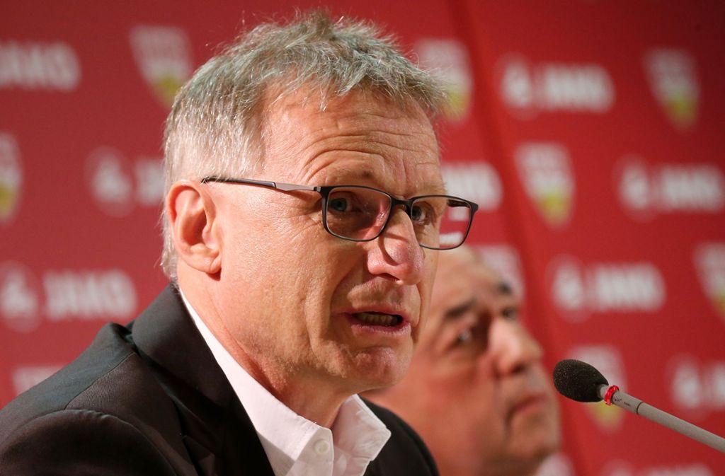 Die Personal-Planungen seien noch nicht abgeschlossen, sagte Sportvorstand Michael Reschke. Foto: Pressefoto Baumann