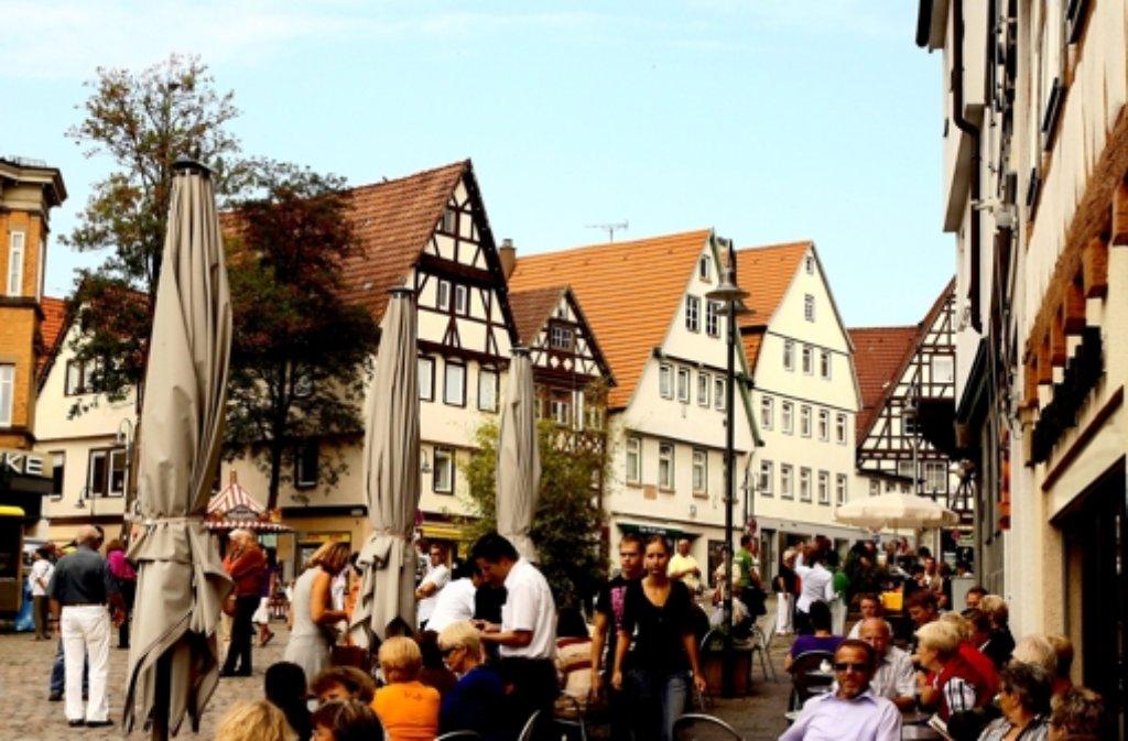 Die Altstadt soll trotz großen Breuningerlandes attraktiv bleiben. Foto: Archiv/Gorr