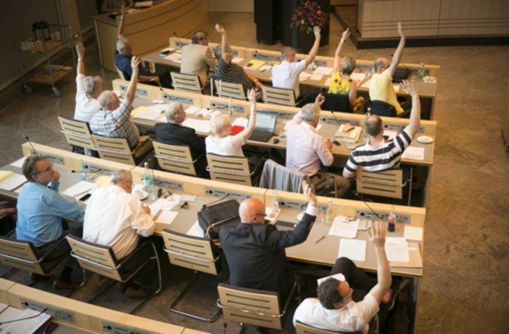 Die Bürgerbegehren zu Stuttgart 21 sind vom Gemeinderat am Donnerstag abgelehnt worden. Foto: Lichtgut/Leif Piechowski