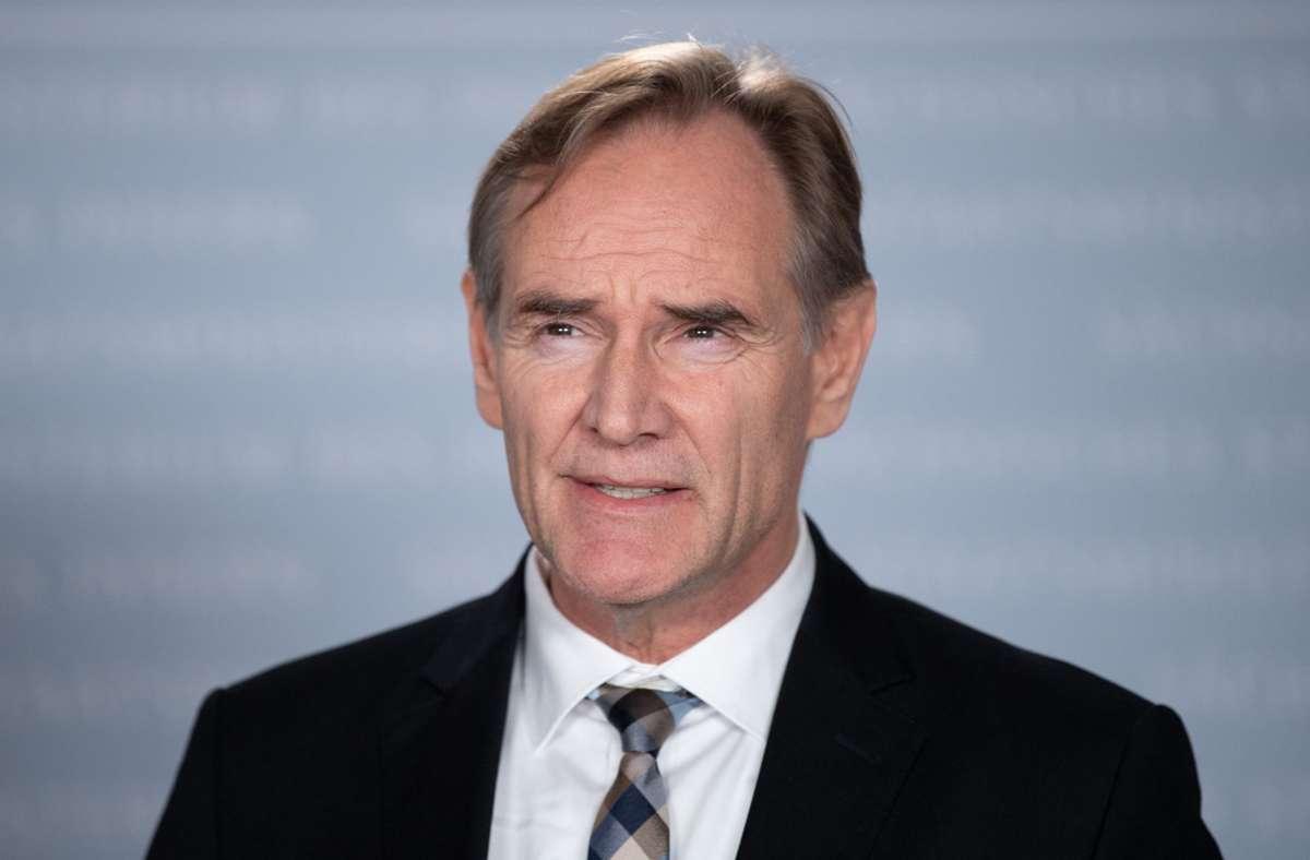 Präsident des Deutschen Städtetages, Burkhard Jung (SPD) Foto: dpa/Sebastian Kahnert