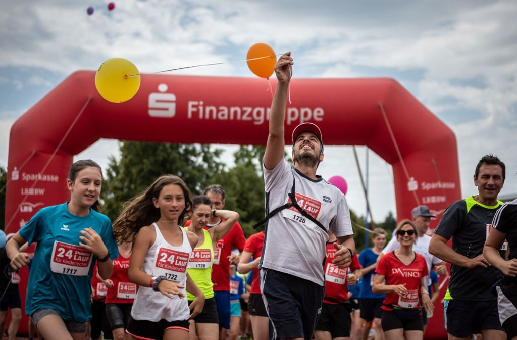 2019 fand der 24-Stunden-Lauf in Stuttgart noch wie gewohnt statt. Foto: Lichtgut/Julian Rettig