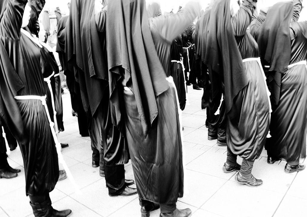 Nonnen auf dem Stuttgarter Schlossplatz Foto: Sven Scholz