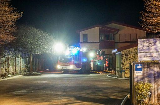 Ursache für Brand in Lagerhalle geklärt