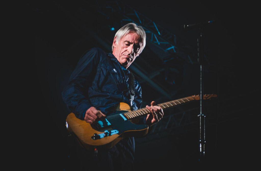 Paul Weller bei einem Auftritt im Jahr 2017 Foto: imago/Pacific Press Agency/Alessandro Bosio