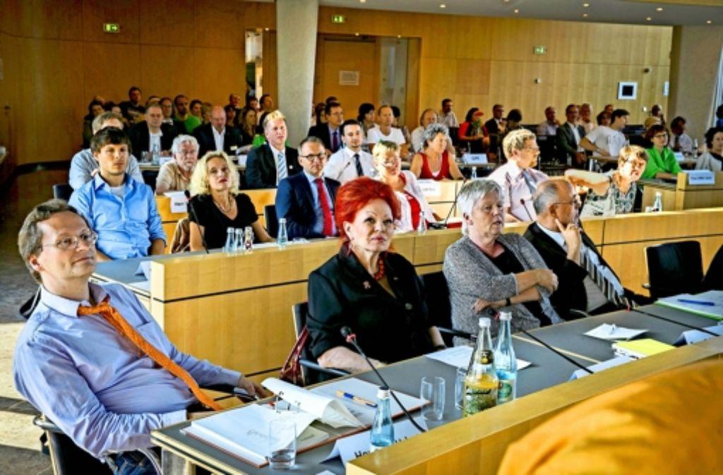 Der Arbeitsaufwand für den Gemeinderat sei gestiegen, sagen die Politiker Foto: Michael Steinert