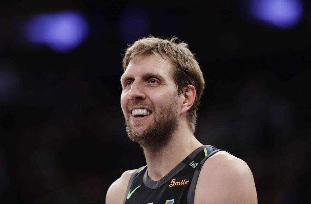 """""""Dirkules"""" steht vor seiner 21. NBA-Saison. Foto: AP"""