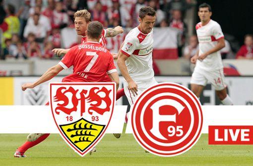 Liveticker zum Nachlesen: VfB müht sich zum Unentschieden