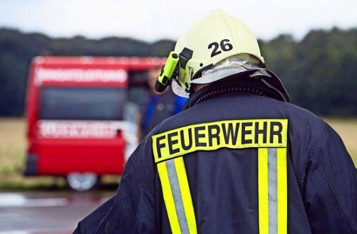 Damit sich Feuerwehrleute nicht anstecken