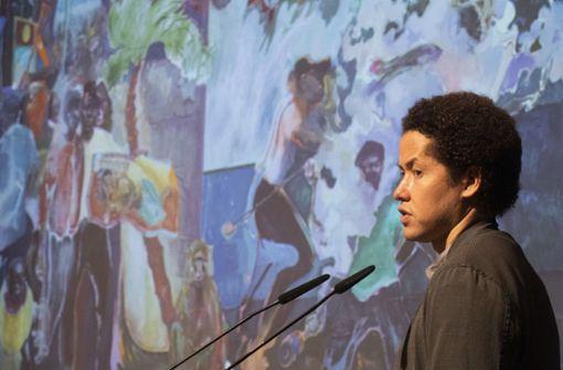 Erste Ausstellung des Maler-Stars in Deutschland