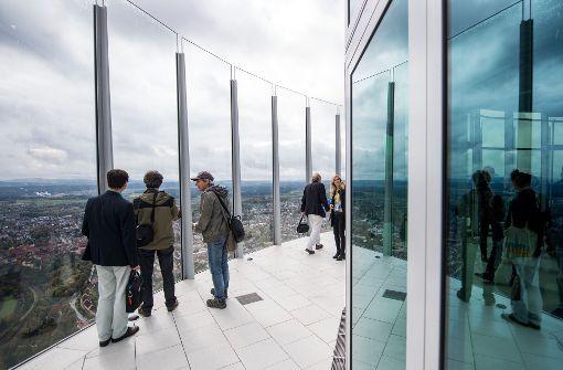 Bereits 60.000 Besucher auf Aussichtsplattform