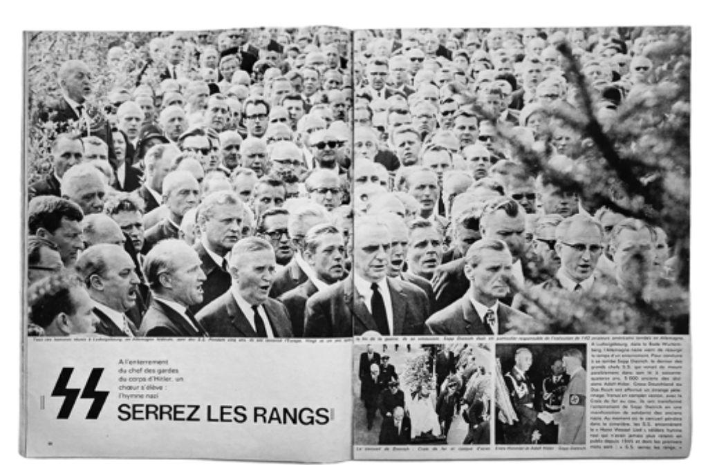 "So berichtete ""Paris Match"" über den Ludwigsburger Skandal. Foto: factum/Granville"