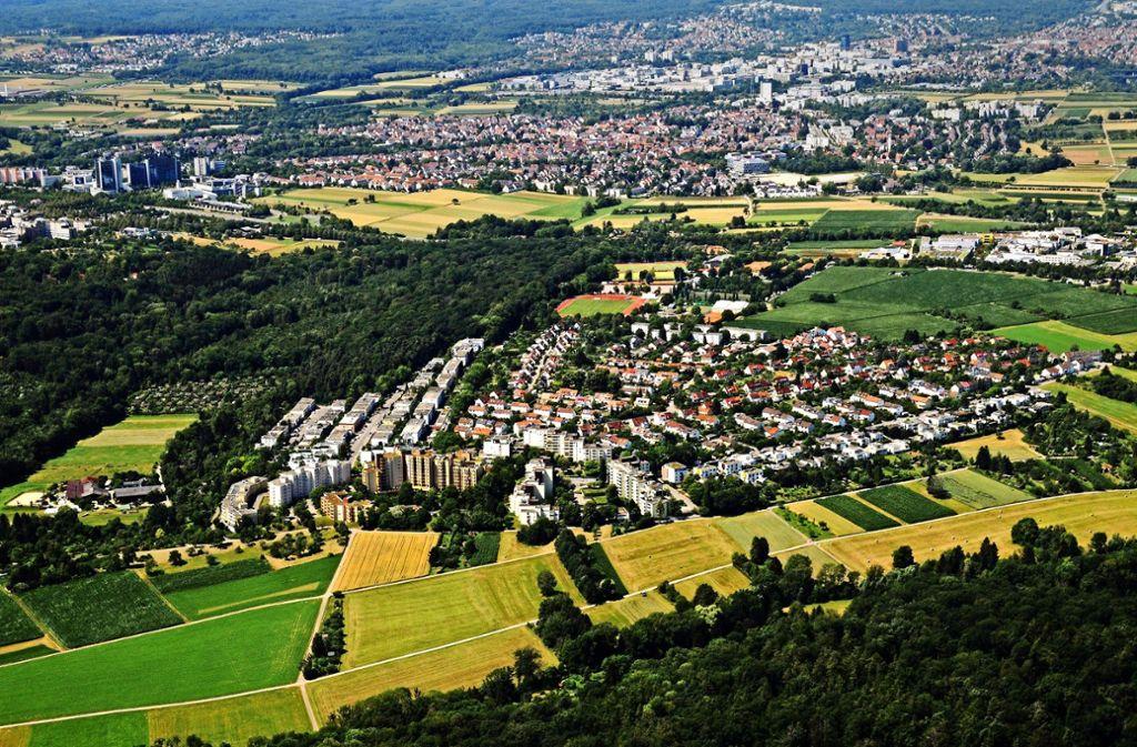 Unter anderem im Stadtteil Hoffeld vermutet die Stadtverwaltung noch Potenziale für den Wohnungsbau. Näheres will man bis 2020 klären. Foto: Lichtgut/Max Kovalenko