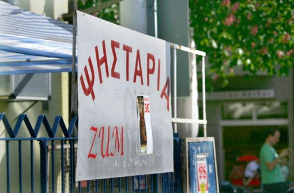 In Bad Cannstatt leben mehr als 4000 Griechen. Foto: Zweygarth