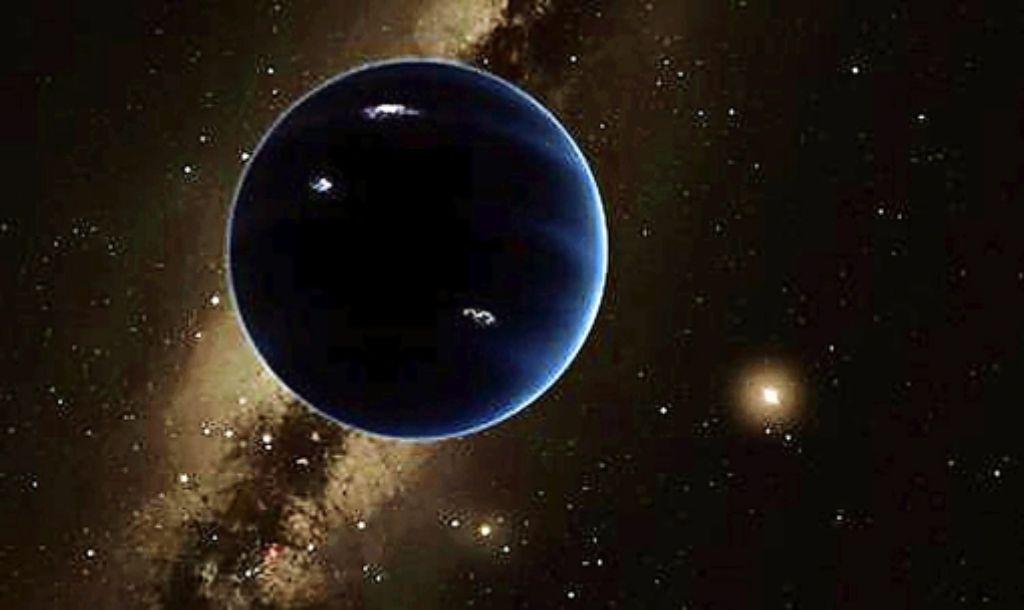 Großer Planet, kleine Sonne: hat die Erde doch acht Geschwister? Foto: dpa