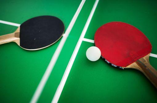 Tischtennisplatten mutwillig zerstört