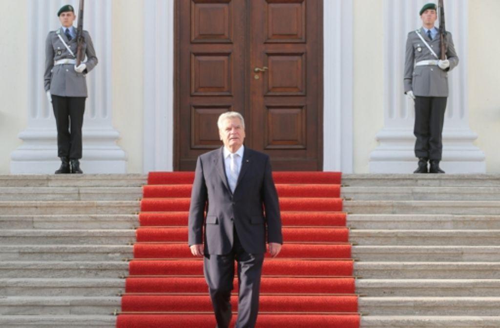 Gauck Kritik